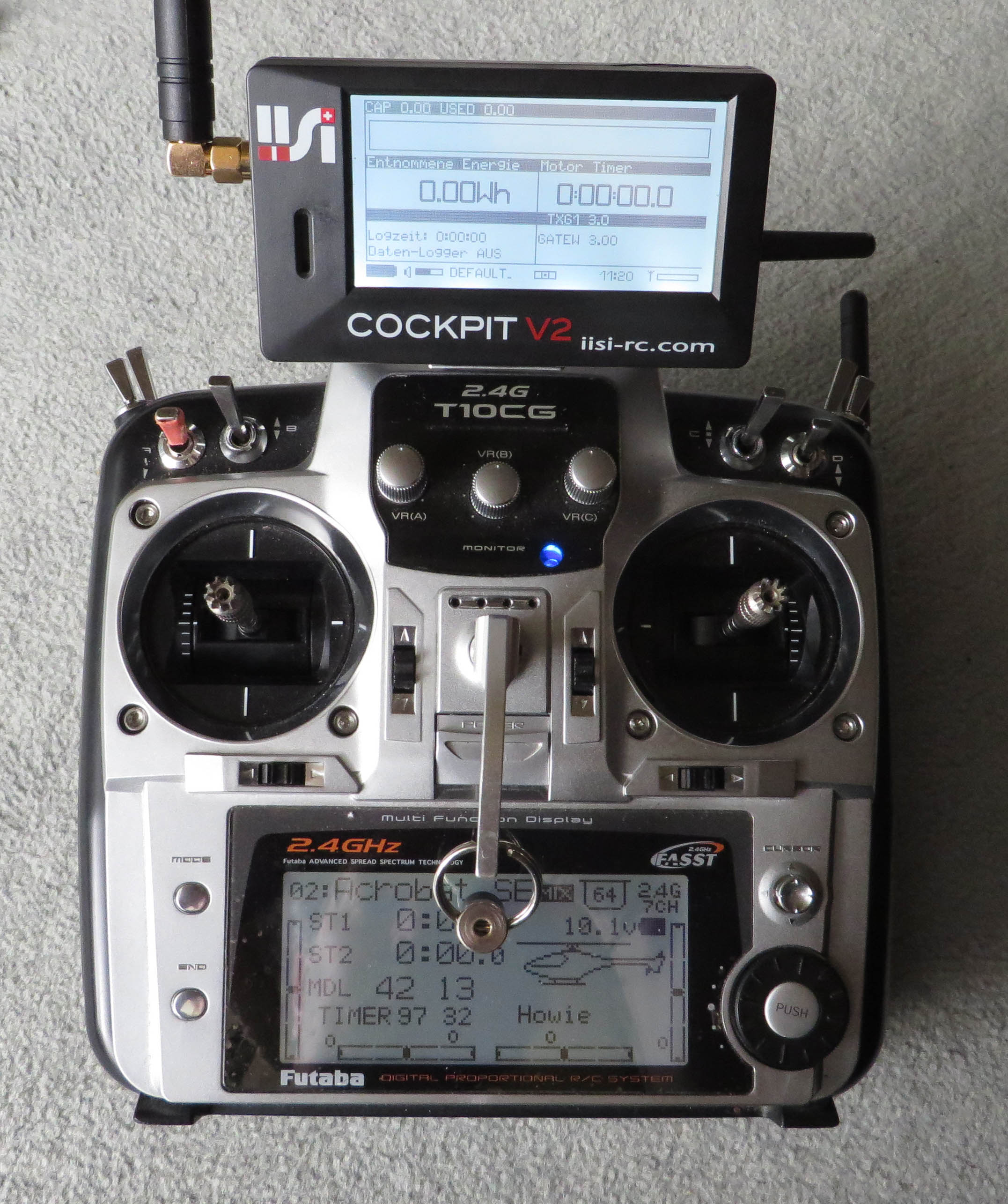 Which new transmitter to choose for using telemetry?